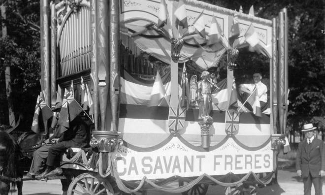 Casavant builts the 1922