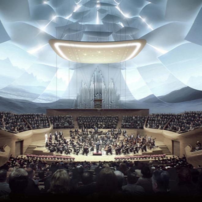 Work in progress - China - concert Hall